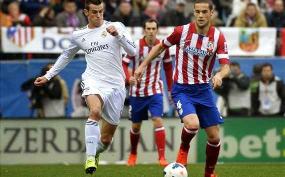 Laga Derby Atletico Madrid vs Real Madrid Berakhir Imbang