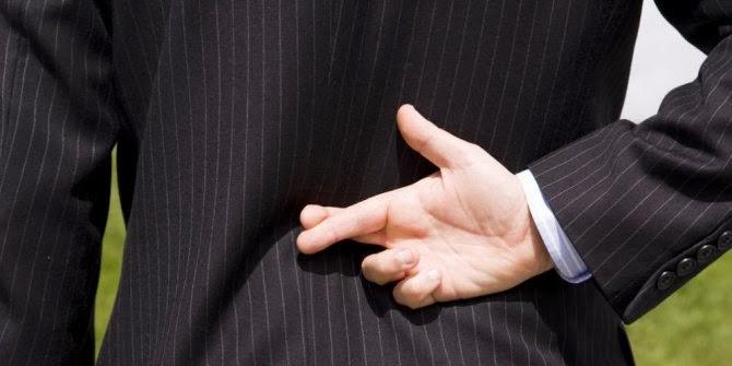 Cara Mengetahui Orang Sedang Berbohong atau Tidak