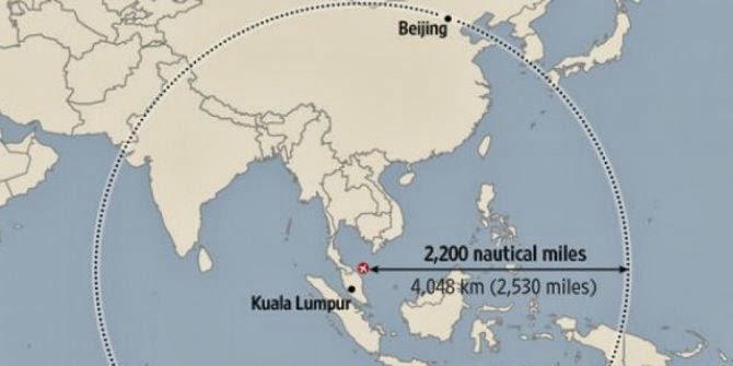 Malaysia Memperluas Area Pencarian Pesawat MH370
