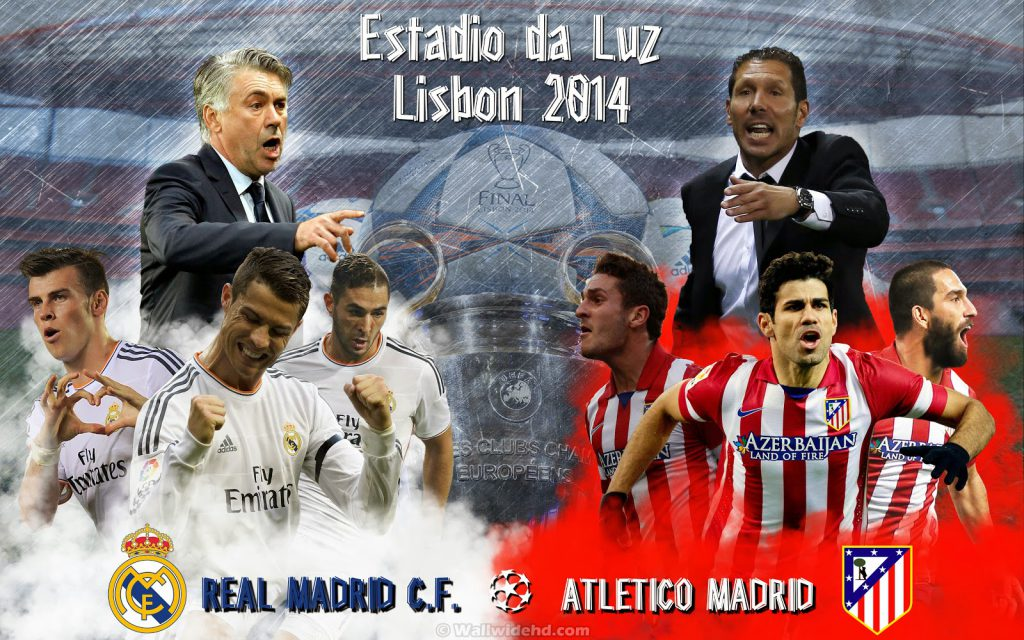 Derby Madrid di Final Liga Champions 2014