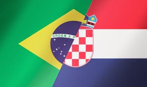 Susunan Pemain Brasil vs Kroasia FIFA World Cup 2014