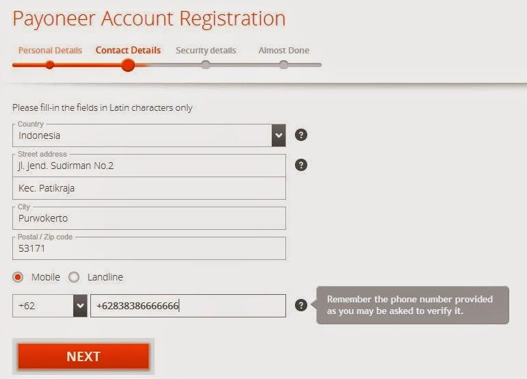 Cara Mendapatkan Kartu Kredit Gratis dari Payoneer