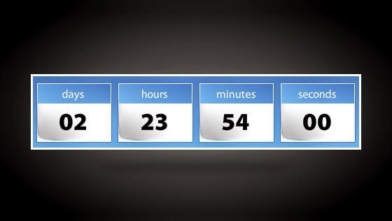 Cara Membuat Widget Countdown Timer Idul Fitri 1435H