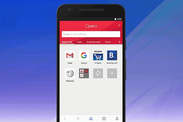 Browser Terbaik Untuk Ponsel Android