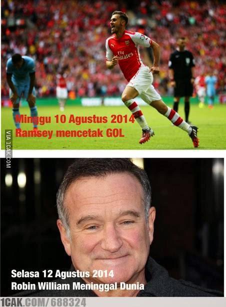 Mitos Gol Maut Ramsey