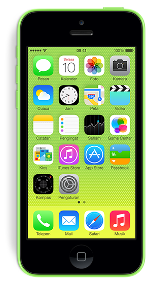 Harga iPhone 5c Terbaru