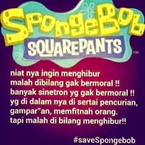 Save Spongebob Jadi Trending Topic di Twitter