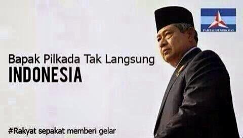 RUU Pilkada Disahkan, SBY Dihujat