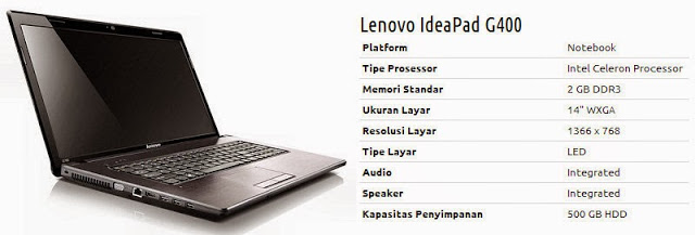 LENOVO IDEAPAD G400