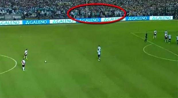 Ada Penampakan Hantu di Pertandingan Liga Argentina