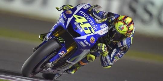 Hasil GP Qatar 2015: Valentino Rossi Juara GP Qatar 2015