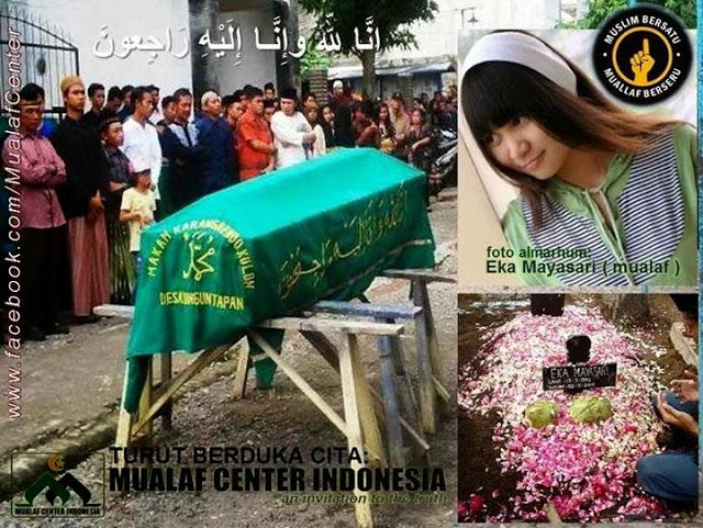 Kisah Eka Mayasari, Mualaf Mandiri yang Meninggal Dibunuh