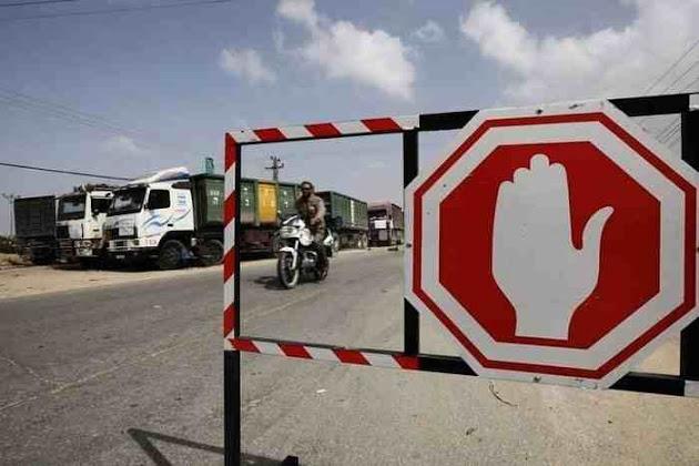 Perlintasan Ditutup Total, Warga Gaza Terisolasi