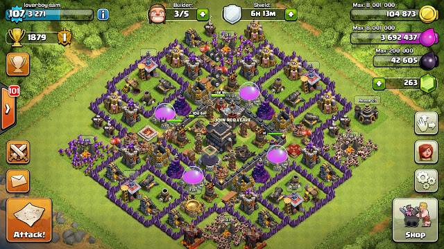 Base Coc Th 9 Max Terkuat 8