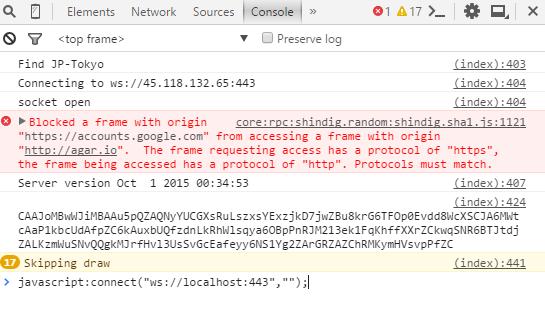 "javascript:connect(""ws://localhost:443"","""");"