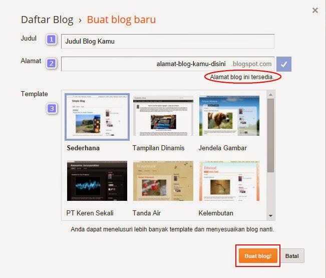 Bagaimana Cara Membuat Blog Gratis di Blogspot?