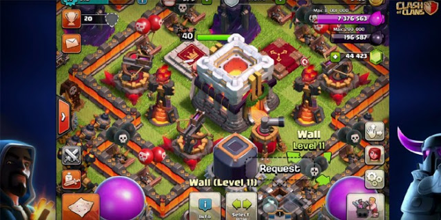 Gambar TH 11 Clash of Clans