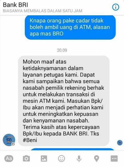 Penjelasan dari BRI Tentang Video Orang Dilarang Ambil Uang di ATM