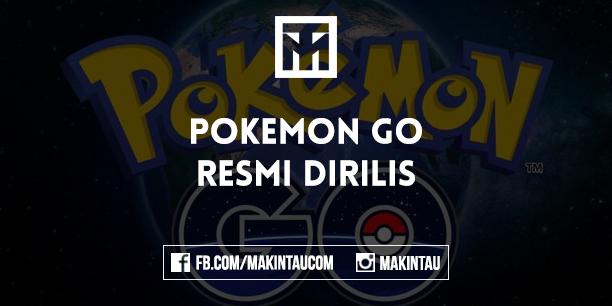 Pokemon Go Resmi di Rilis