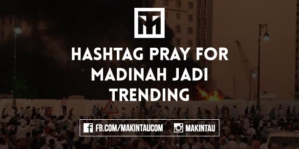 Madinah Di Bom, #PrayForMadinah Jadi Trending Topic