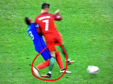 Video Detik-Detik Ronaldo Dilanggar Payet