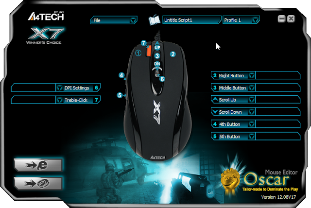 download driver mouse macro x7 f3