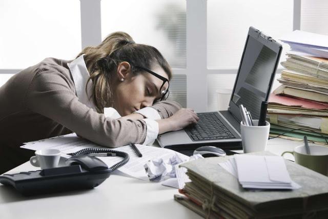 Hard Work in Office