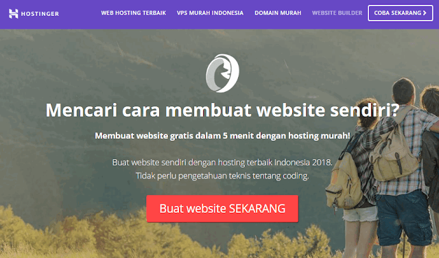 Website Builder Hostinger Indonesia
