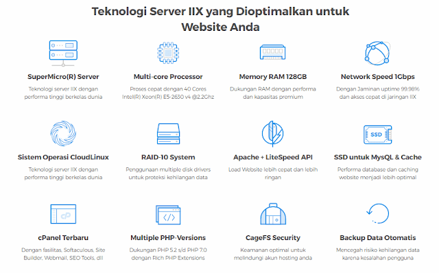 Teknologi Server Niagahoster