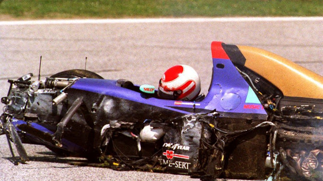 Roland Ratzenberger Crash
