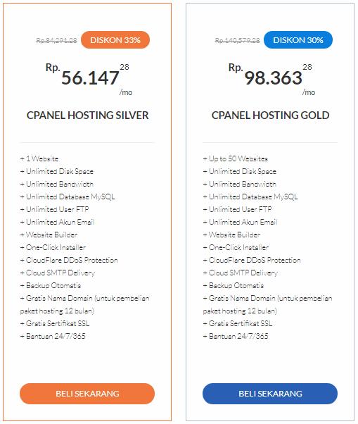 cPanel Hosting Premium