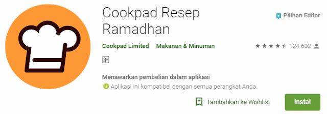 Cookpad Resep Ramadhan