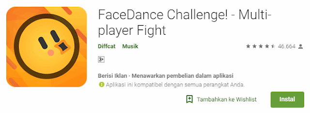 FaceDance Challenge!