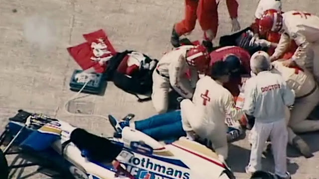 Ayrton Senna Crash