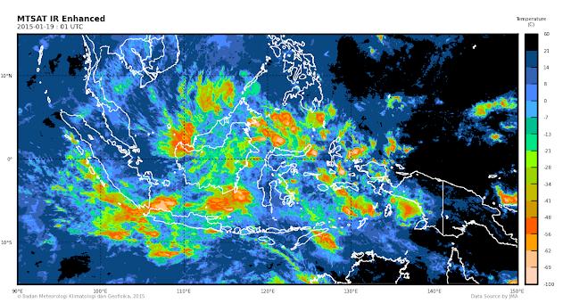 Inilah Penyebab Suhu Dingin Yang Melanda Indonesia