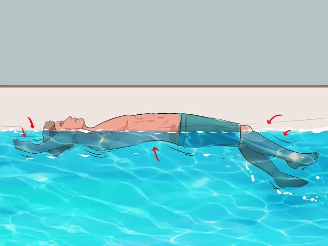 Mencegah Diri Jadi Korban Tenggelam, Begini Cara Untuk Tetap Mengapung Di Air