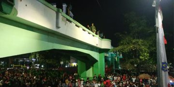 Lokasi Insiden Viaduk Surabaya
