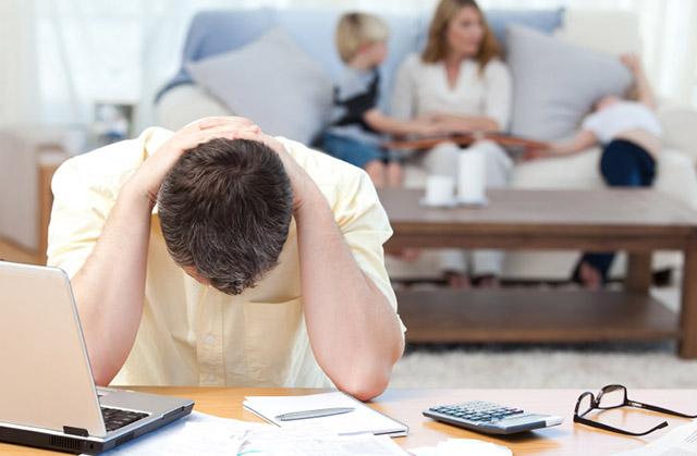 Lilitan hutang yang membuat stress