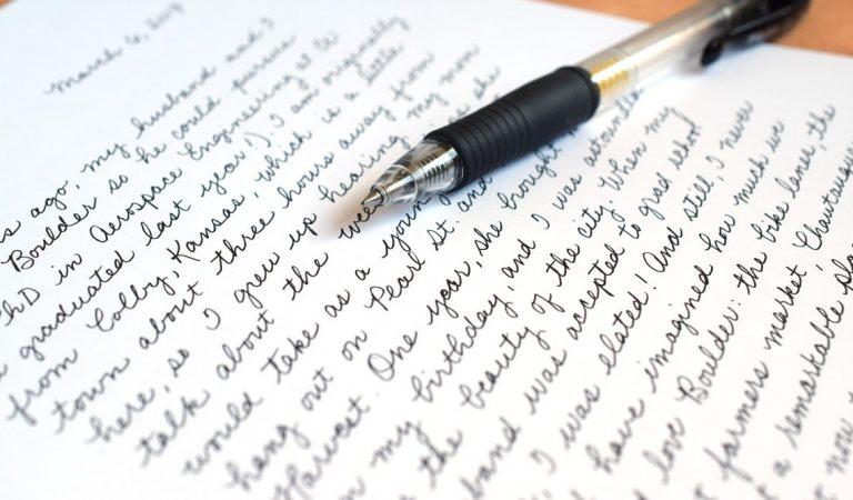 Inilah Kumpulan Tulisan Tangan yang Rapinya Kebangetan