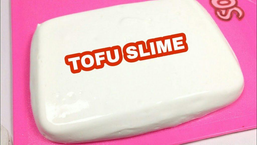 Cara membuat slime tofu