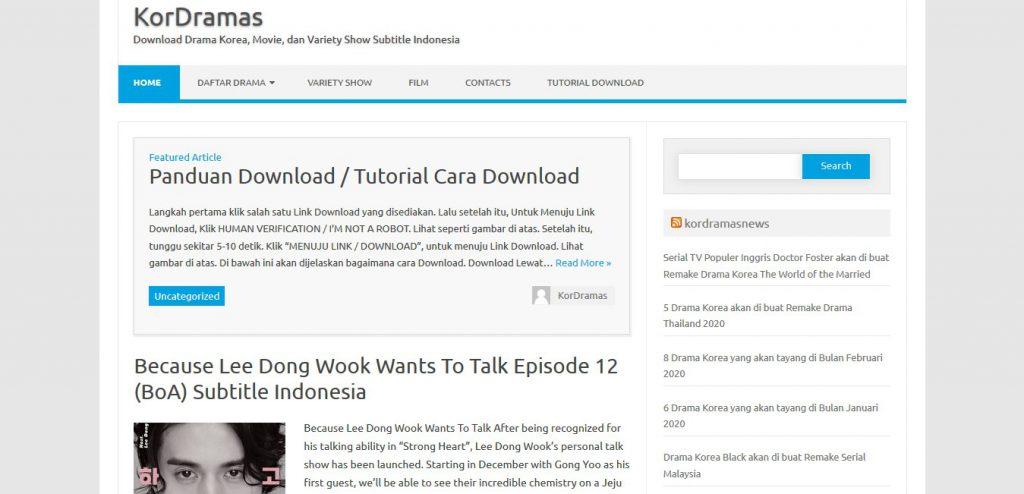 situs download drakor kordeamas.com